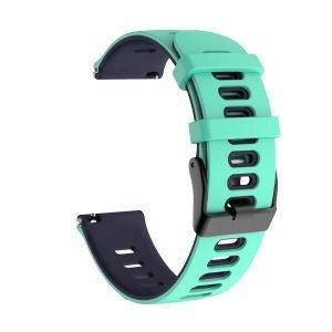 Samsung Gear S3 Sport bandje (22mm) dual - Galaxy Watch 46mm SM-R810 mint - blauw_002
